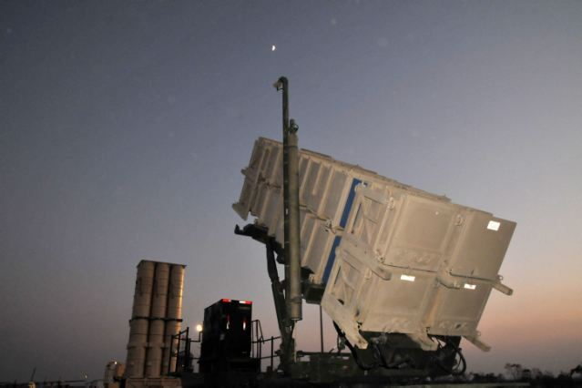 An unmanned aircraft entered Israeli territory from Gaza and was shot down over Ashdod by the Patriot missile battery Monday, July 14, 2014, morning, the IDF (Israel Defense Forces) said. The Israeli Navy was searching for remnants of the drone, which was intercepted over an open area near the Ashdod coast.