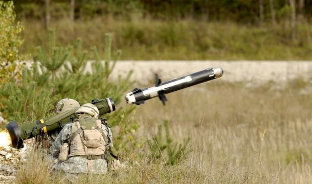 The Raytheon Company and Lockheed Martin Javelin Joint Venture recently fired a Javelin missile from a remote weapon station integrated onto a wheeled vehicle at Redstone Arsenal in Huntsville, Alabama.