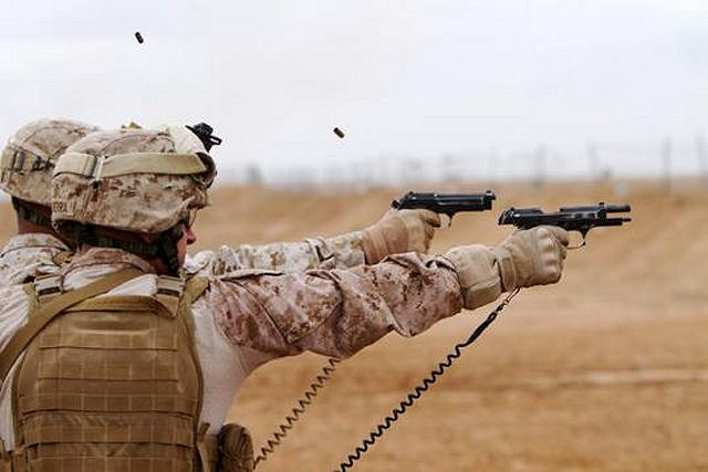 "The U.S. Army would like to replace its standard 9mm pistols with a more accurate and user-friendly model. U.S. Army officials say they want a new ""Modular Handgun System"" with more stopping power, accuracy and reliability than the M9 currently in service."