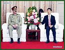 Chinese security official Meng Jianzhu on Thursday, June 5, 2014, pledged to strengthen cooperation against terrorism with Pakistan and protect the security of Chinese personnel and institutions in Pakistan.