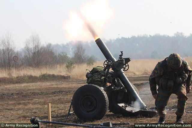 Mortar In Field : Belgian and dutch army signed a cooperation agreement in