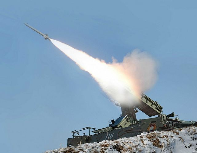 North Korea fired 16 short-range rockets from its east coast early Sunday for a second straight day, the South-Korean Joint Chiefs of Staff (JCS) said, the latest in a series of provocative launches that are in apparent protest of ongoing joint military drills between Seoul and Washington.