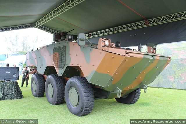 One mechanised infantry unit of the Brazilian army has take delivery of the first batch of the new Guarani VBTP-MR 6x6 armoured vehicles. The new vehicle is developed by Iveco and the Brazilian Army to replace all EE-11 Urutu by 2015.