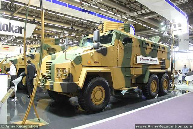 Vehicle manufacturer BMC has finally delivered 25 Kirpi armored vehicles and 25 military trucks to the Turkish army. The Izmir-based vehicle manufacturer, which was seized by the state fund last year due to the debts of its former owner Çukurova Group, appears to be rising to its feet at last, after failing to fulfill its responsibilities for months due to heavy financial constraints.