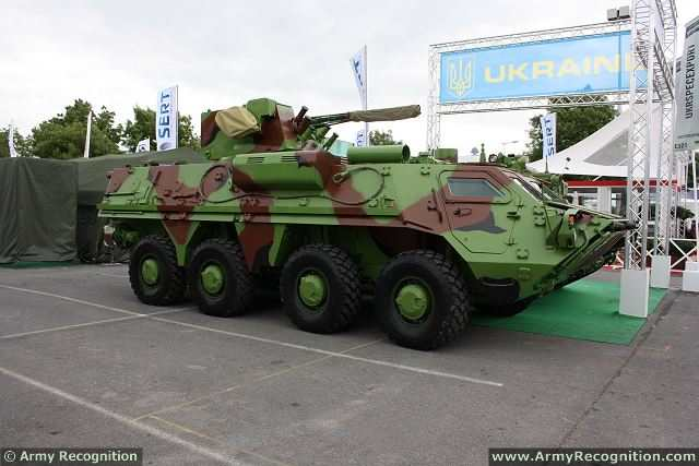 "Ukrainian State Foreign Trade Enterprise ""SpetsTechnoExport"" anounces a new contract option for the delivery of 50 BTR-4 armoured vehicles personnel carrier to the Indonesian Naval Forces. This is the second foreign country that buys the BTR-4. Ukraine and Iraq signed a contract on the supply of 420 BTR-4 vehicles for a total of $457.5 million in 2009."
