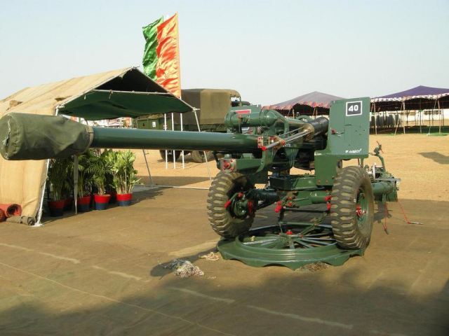 India on Saturday, November 22, 2014, invited bids for a $2.4-billion artillery deal. The bid for 814 mounted guns is the first big artillery tender in nearly three decades since the scandal-hit Swedish Bofors guns deal in 1987.