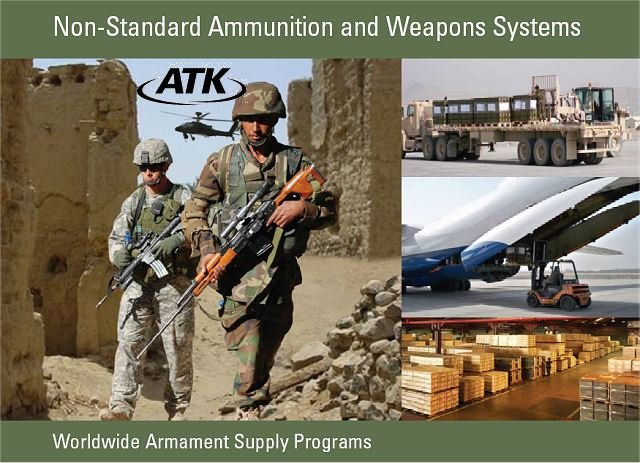 ATK, a world-leading producer of ammunition, precision weapons and rocket motors, announced today that it has been awarded multiple contract awards with the U.S. government to supply non-U.S. standard ammunition (NSA) for the Department of Defense in support of international allies. The combination of awards received in August and September 2014 under ATK's Indefinite Delivery/Indefinite Quantity and Basic Ordering Agreement contracts total $203.7 million.