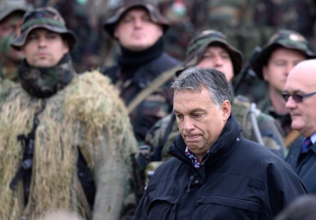 "The Hungarian military is on the way of a ""technical modernisation process"", Prime Minister Viktor Orban told the public media on Thursday, October 2, 2014. After observing a military exercise in Osku, in western Hungary, Orban said that it has become necessary to replace basic equipment. He said it would be ""rather costly"" but added that it need not be completed ""in one go"". (Source POLITICS.HU)"