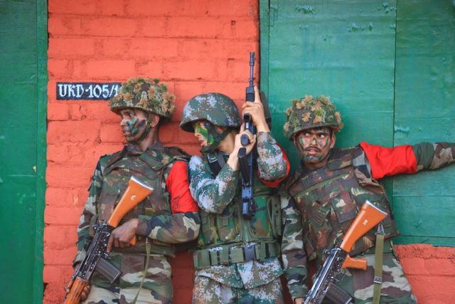 "India and China are likely to hold a joint ""Hand-in-Hand"" army exercise next month in Pune that will focus on counter-insurgency and counter-terrorism tactics, weeks after a stand-off between their troops in along the border in Ladakh region."