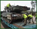 According to Defence24, General Command of the Polish Armed Forces has released information that the 34th Polish Armoured Cavalry Brigade has received another batch of Leopard 2A5 tanks. The tanks have been transported via railways from Germany and unloaded within the base of the unit onto a specially prepared ramp.