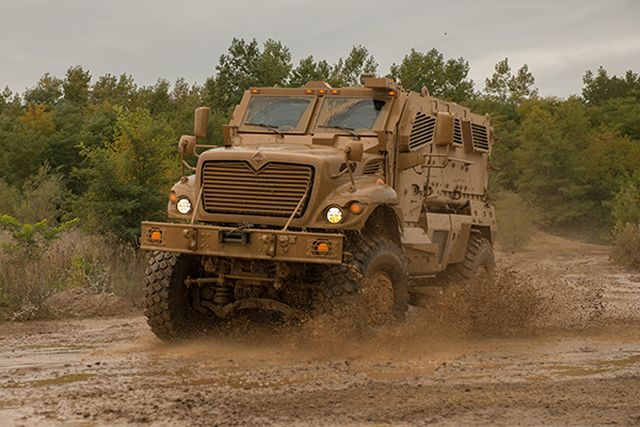 Foreign military vehicle identification