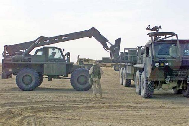 The United States Marine Corps System Command has awarded Oshkosh Defense, an Oshkosh Corporation company, a five-year contract to modernize the service's Extended Boom Forklift (EBFL) fleet. Under the contract Oshkosh will modernize 495 EBFLs and provide approximately 100 armored cabs as well as replacement parts.