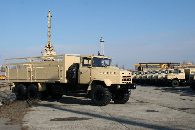 AutoKrAZ to send next batch of KrAZ-6322 6x6 off-road military trucks to Egyptian army 640 001
