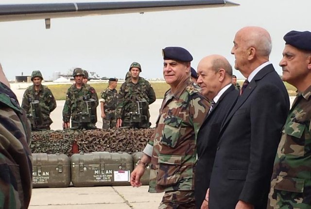 France delivers first 48 Milan anti-tank missiles ATGM to Lebanese army 640 001