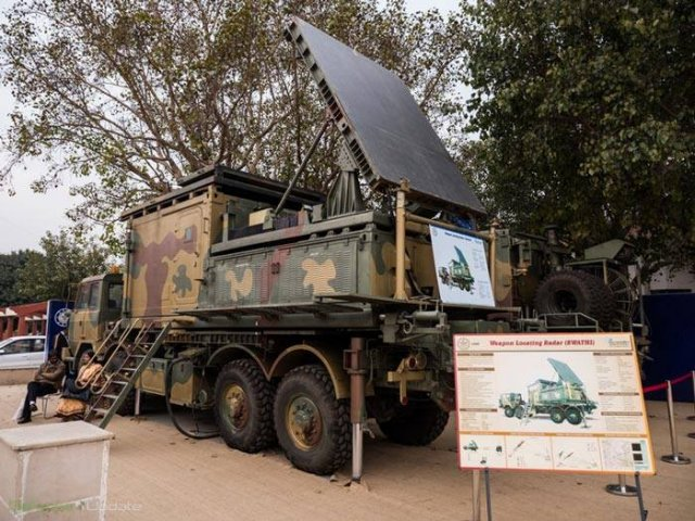 Indian Army to Use BEL Swati Weapon Locating Counter-Battery Radars 640 001