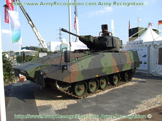 Puma infantry fighting vehicle gets official approval for service in German army 640 001