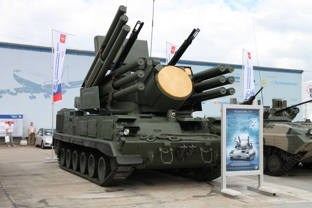 Russia Developing Tracked Version of Pantsir SA-22 Self-Propelled Anti-Aircraft System for Arctic 640 001