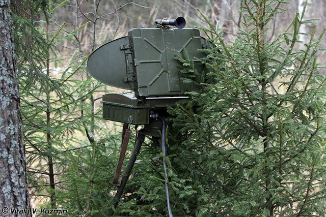 Russian Eastern MD reconnaissance units received new ground reconnaissance systems PSNR-8M 640 001