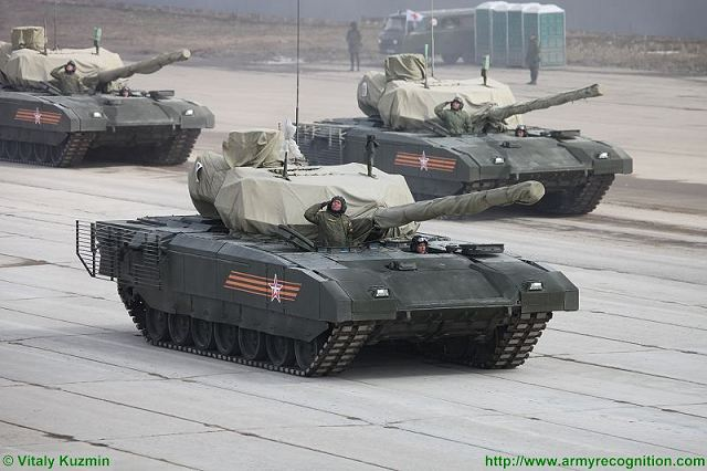 T-14 Armata main battle tank rehersal Alabino Victory day military parade red square moscow Russian army 2015