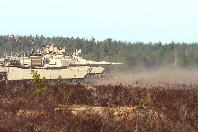 United States Army performs live firing demonstration with