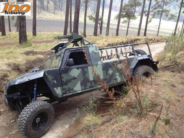 ZIBAR Mk2 4x4 ATV All-Terrain Vehicles for Mexican Army