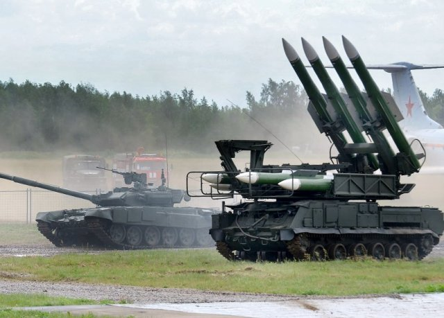 Almaz Antey develops enhanced version of the Buk air defense missile system 640 001