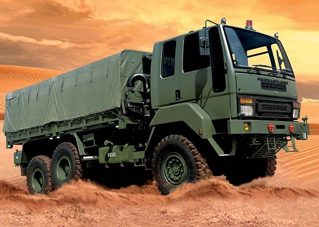 Ashok Leyland completed delivery of 633 military vehicles to Zimbabwean Defense Ministry 640 001