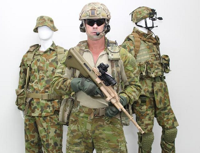 Australian soldiers start receiving new new protective and load arrying gear 640 001