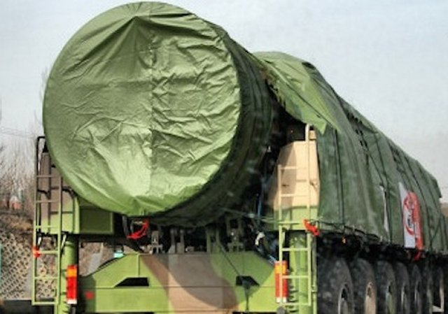 China conducted flight test DF-41 road-mobile missile 640 001