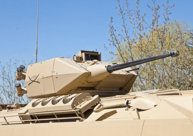 FNSS Saber 25mm turret successfully achieves firing qualification tests on PARS IFV 640 001