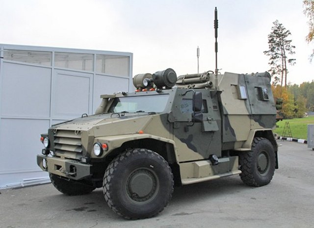 GAZ Group about to start mass production of Russian military s future Volk armored vehicl 640 001