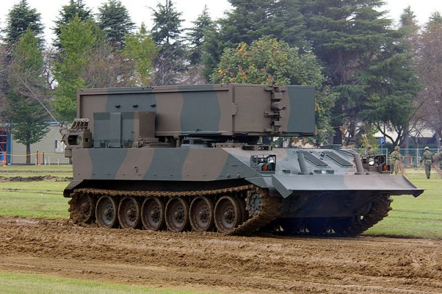 Japan Selft Defence Forces began four days live-fire drills 640 001