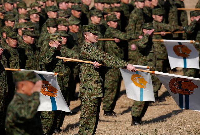 Japan is seeking to increase defense spending of 2-2 percent with a total of 42$ billion for the year 640 001
