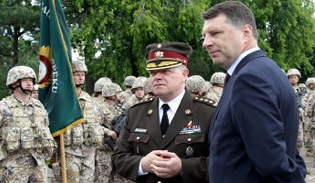 Latvia increase defense expenditure  2percent  gross domestic product (GDP) 640 001