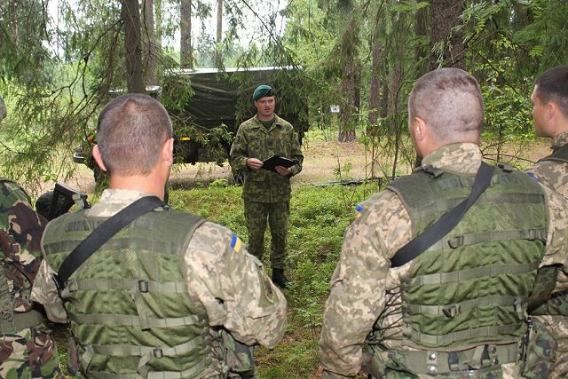 Lithuania will train Ukraine military instructors for Marksmanship and Urban Combat Courses 640 001