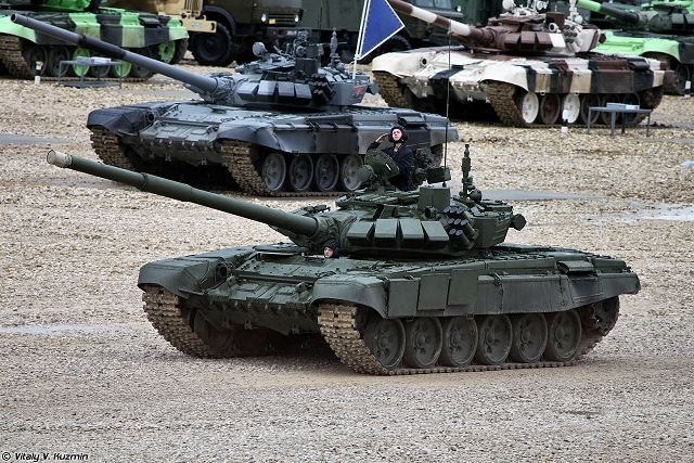 Nicaragua is interested to purchase Russian-made main battle tank T-72B3 640 001