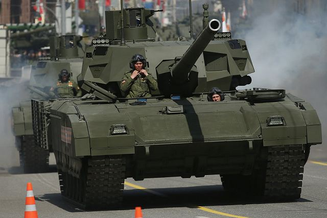 T-14 Armata MBT main battle tank to be demonstrated at RAE Russia Arms Expo 2015
