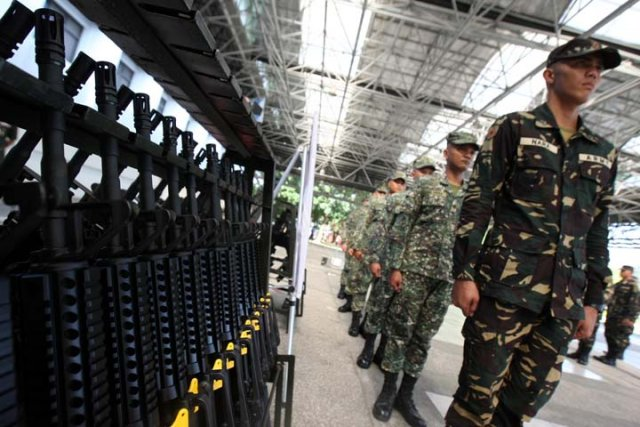 The Armed Forces Philippines has 40k M4 Remington Rifles after US firm mistake 640 001