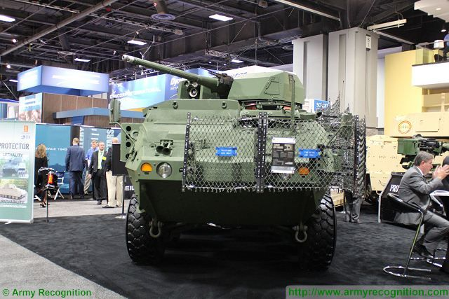 Kongsberg Protector 30mm Remote Weapon Station selected to be mounted on US Stryker armored 640 001