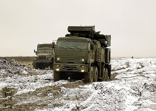 Russia Eastern Military District receives 2S7 Pion artillery guns and Pantsir S air defense systems 640 001