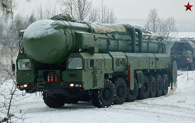 Russia Strategic Rocket Forces have test fired RS-12M Topol SS-25 ICBM missile 640 001