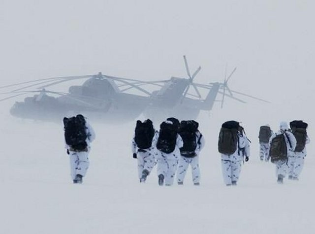 Russia reportedly achieved equipping six military bases in Arctic region 640 001