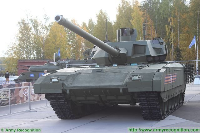 Russian Army is about to switch to T14 tanks on the Armata commonized heavy tracked chassis 640 001