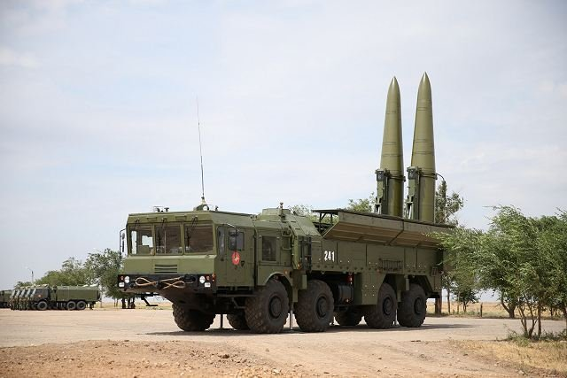 Russian Iskander M launcher system to be equipped with a new secretive missile 640 001