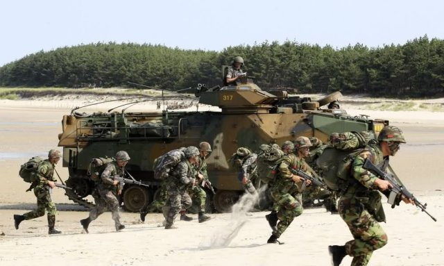 South Korea launches new 9th Marine Corps brigade to protect Jeju island 640 001