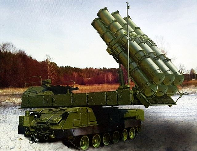 A new cutting-edge missile has been created for the Buk-M3 medium-range air defense missile system, Lieutenant General Alexander Leonov, the commander of Russia's air defense troops, told the Russian News Service on Saturday, December 26, 2015.