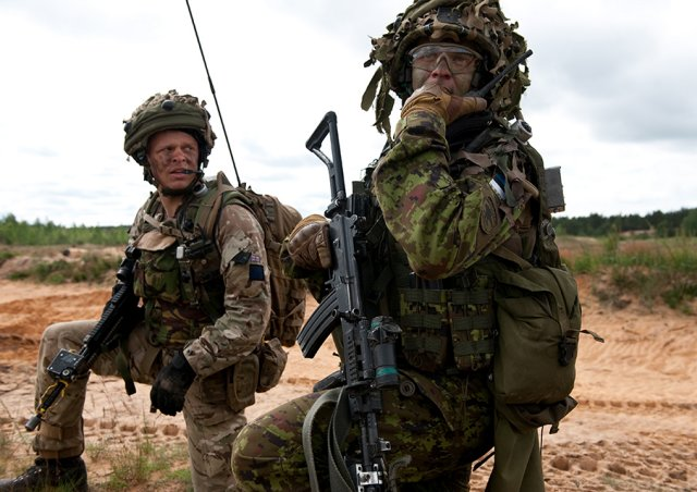 UK and European partners signed MoU for the future Joint Expeditionary Force 640 001