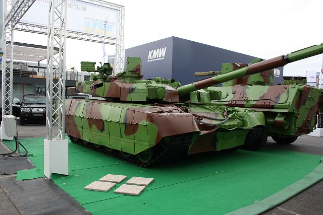 Ukraine and Poland will cooperate to develop mortar carrier and howitzer based on T-84 Oplot tank 640 001