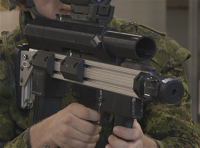 Canadian Armed Forces And Colt Have Developed A New