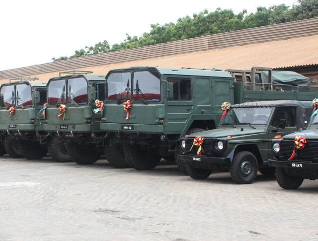 Ghana Armed Forces received  1 mn in military equipment from Germany 640 001